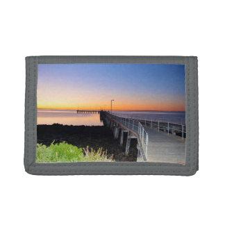 Sonnenuntergang-Küsse, Hafen Victoria, Australien,