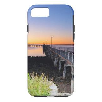 Sonnenuntergang-Küsse, Hafen Victoria, Australien, iPhone 8/7 Hülle