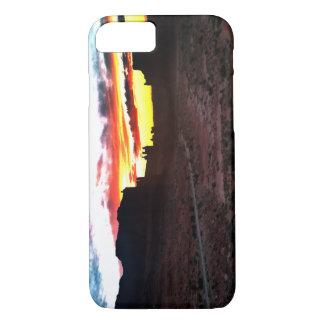 Sonnenuntergang-La-Salz-Gebirgsstandpunkt wölbt iPhone 8/7 Hülle