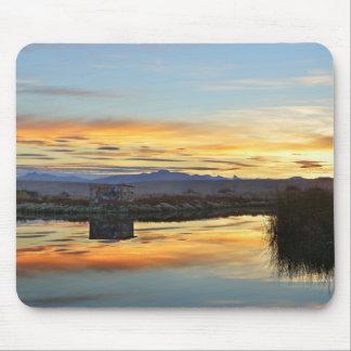 Sonnenuntergang Lagunas Nimez, EL Calafate, Mousepads