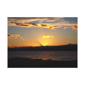 Sonnenuntergang Leinwanddruck