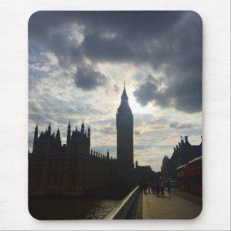 Sonnenuntergang Londons Vereinigtes Königreich Big Mauspad