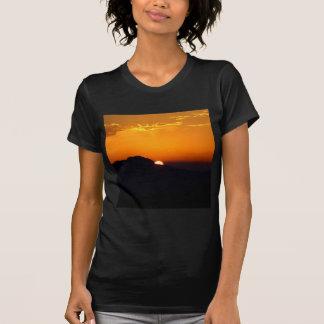 Sonnenuntergang-marokkanisches Glühen T-Shirt