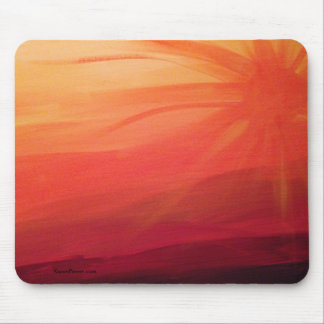 Sonnenuntergang - Mausunterlage Mousepad