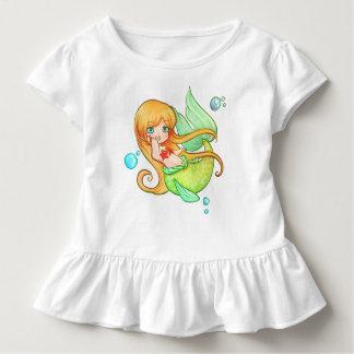 Sonnenuntergang-Meerjungfrau Kleinkind T-shirt