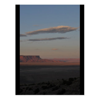 Sonnenuntergang-MESA Postkarte