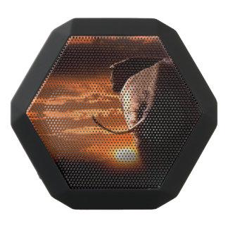 Sonnenuntergang mit Elefanten Schwarze Bluetooth Lautsprecher