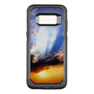 Sonnenuntergang mit Wolken, schöner Himmel OtterBox Commuter Samsung Galaxy S8 Hülle