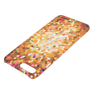Sonnenuntergang-Mosaik-Mobiltelefonkasten iPhone 8 Plus/7 Plus Hülle