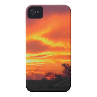 Sonnenuntergang nach dem Sturm iPhone 4 Cover