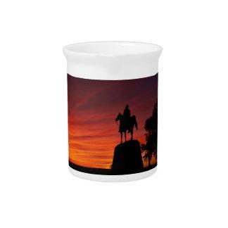 Sonnenuntergang - Nationalpark Gettysburg - Meade Krug