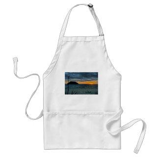 Sonnenuntergang Neuseelands Abel Tasman Schürze