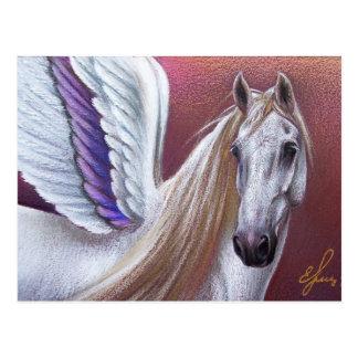 Sonnenuntergang Pegasus Postkarte