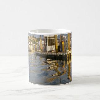 Sonnenuntergang-Pier Kaffeetasse