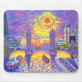Sonnenuntergang: Pool von London 2013 Mousepad