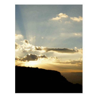 Sonnenuntergang Postkarte