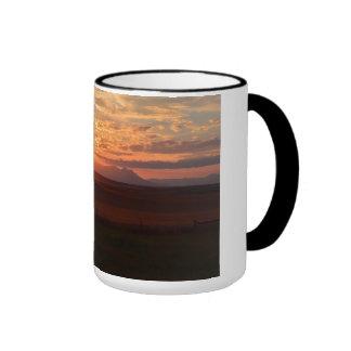 Sonnenuntergang Ringer Tasse