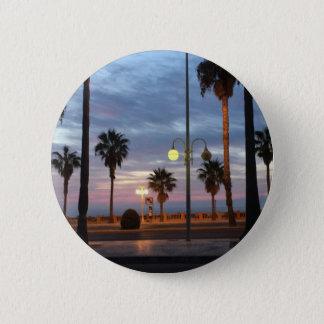 Sonnenuntergang Runder Button 5,1 Cm