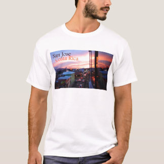 Sonnenuntergang San Jose Costa Rica T-Shirt