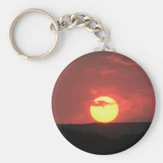 Sonnenuntergang Schlüsselanhänger