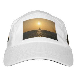 Sonnenuntergang-Segel Headsweats Kappe