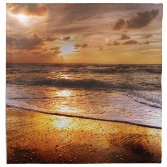 Sonnenuntergang Serviette