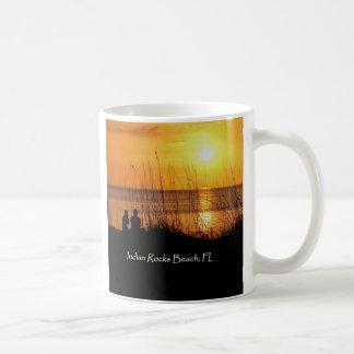 Sonnenuntergang-Silhouetten Teetassen