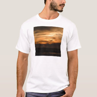 Sonnenuntergang Smokey Dunst T-Shirt