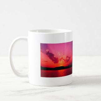 Sonnenuntergang, Sonnenuntergang Tassen