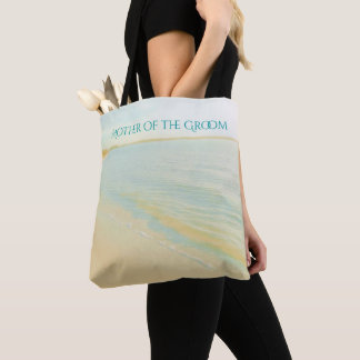 Sonnenuntergang-Strand-Szenen-Mutter der Tasche