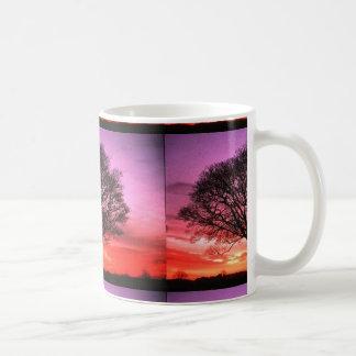 Sonnenuntergang Tee Tasse
