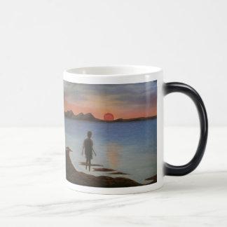 Sonnenuntergang Kaffeetassen