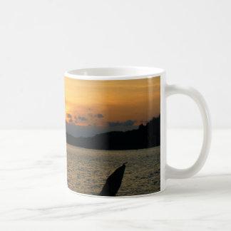 Sonnenuntergang Kaffee Tasse