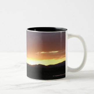 Sonnenuntergang Tee Haferl