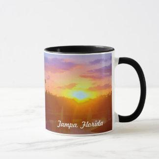 Sonnenuntergang-Tasse Tampas Florida Tasse