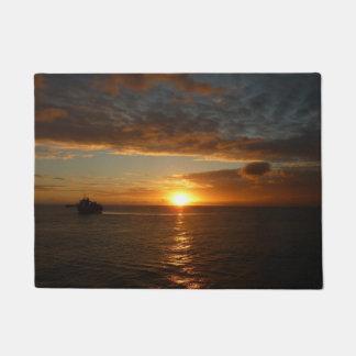 Sonnenuntergang tropischen Meerblick am Meerii Türmatte