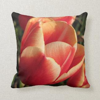 Sonnenuntergang-Tulpe Kissen