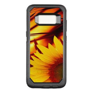 Sonnenuntergang u. Sonnenblume OtterBox Commuter Samsung Galaxy S8 Hülle