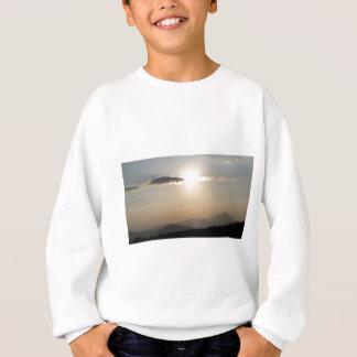 Sonnenuntergang über Bergen Sweatshirt