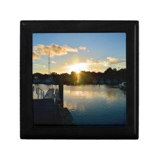 Sonnenuntergang über Cape Cod Erinnerungskiste