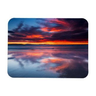 Sonnenuntergang über den Kanal-Inseln, CA Magnet