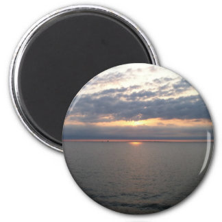 Sonnenuntergang über der Ostsee Magnete