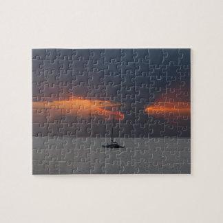 Sonnenuntergang über Maui-Puzzlespiel Puzzle
