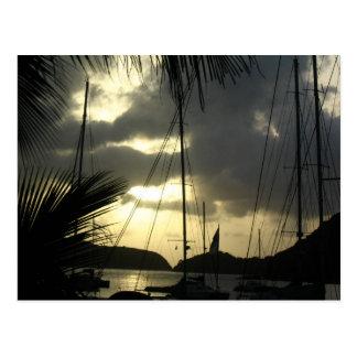 Sonnenuntergang über Sopers Loch Postkarte