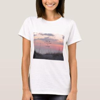 Sonnenuntergang Verstand Dekans Spanley Quote T-Shirt