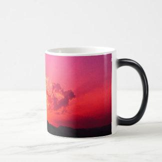 Sonnenuntergang Verwandlungstasse