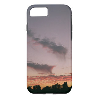 Sonnenuntergang violetter Iphone Kasten iPhone 8/7 Hülle
