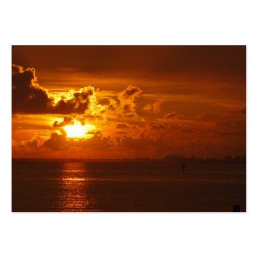Sonnenuntergang Visitenkarte