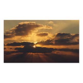 Sonnenuntergang Visitenkarten