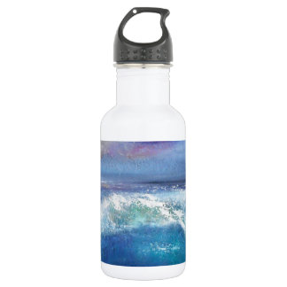 Sonnenuntergang-Wellen-Wasser-Flasche Edelstahlflasche